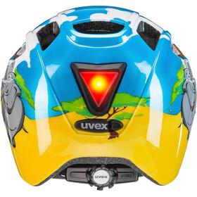 UVEX Finale Helmet LED Kids, safari